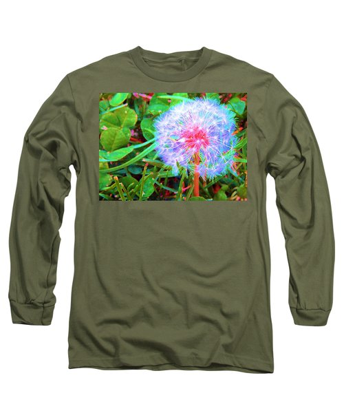 Long Sleeve T-Shirt featuring the photograph Make A Wish by Susan Carella