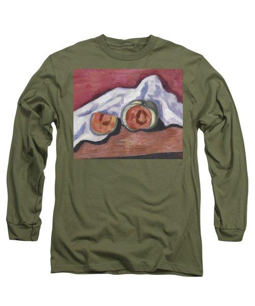 Melons Long Sleeve T-Shirt by Marsden Hartley