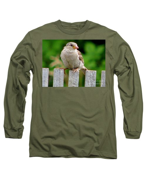 Morning Visitor Long Sleeve T-Shirt by Rory Sagner