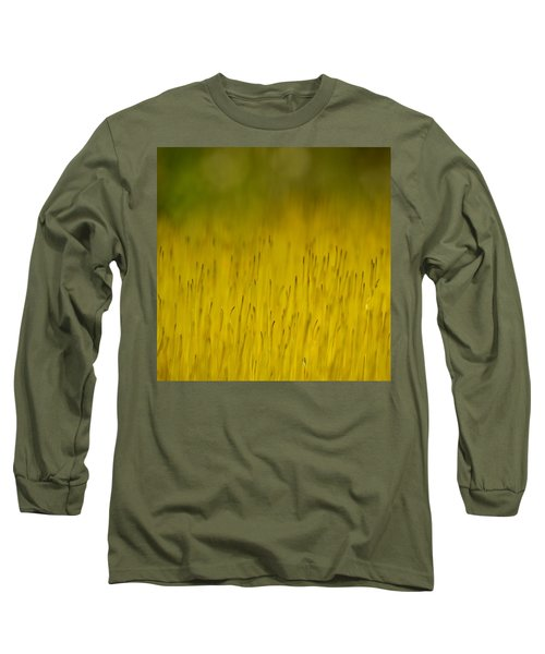 Moss In Yellow Long Sleeve T-Shirt