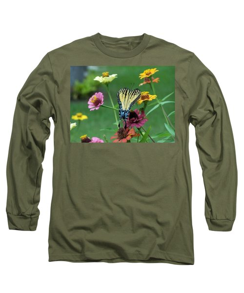 Long Sleeve T-Shirt featuring the photograph Nature by Cynthia Amaral