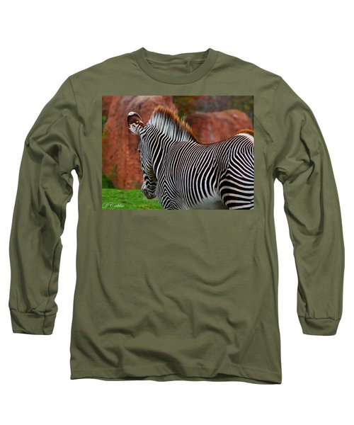 Nature's Barcode Long Sleeve T-Shirt by Davandra Cribbie