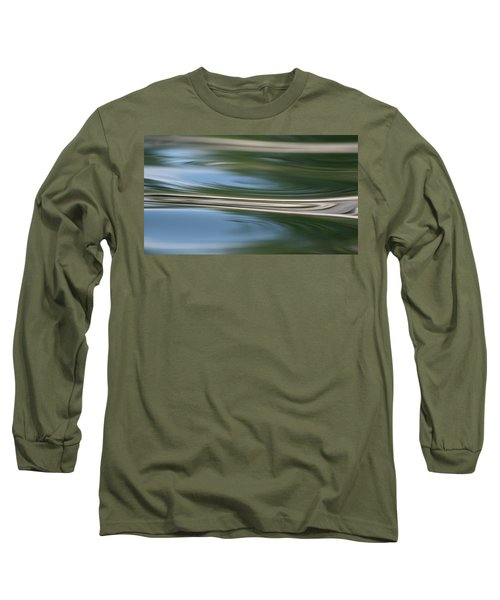 Nature's Reflection Long Sleeve T-Shirt by Cathie Douglas