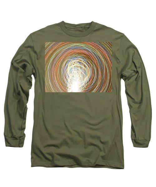 Neon Lights Spinning Long Sleeve T-Shirt