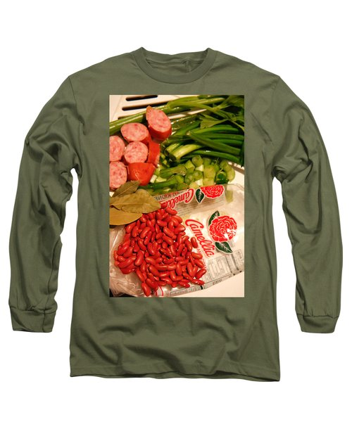 New Orleans' Red Beans And Rice Long Sleeve T-Shirt
