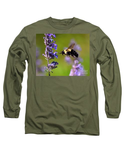 Non Stop Flight To Pollination Long Sleeve T-Shirt