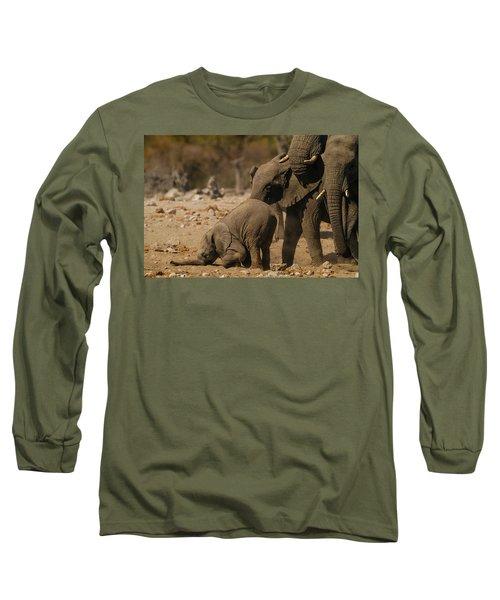 Nose Bump Long Sleeve T-Shirt