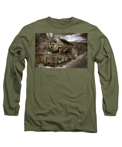 Old Mine Train Banff Long Sleeve T-Shirt