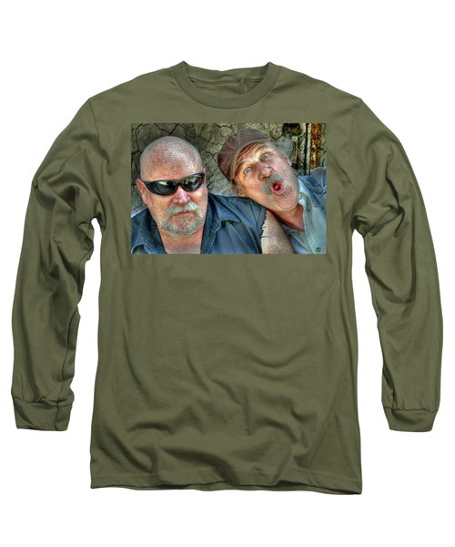 On A Napanee Stoop One Day Long Sleeve T-Shirt