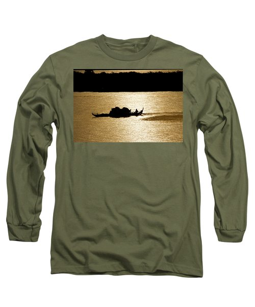 On Golden Waters Long Sleeve T-Shirt