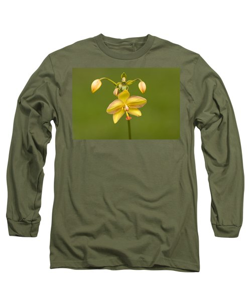 Orchid Number 1 Long Sleeve T-Shirt by Rich Franco