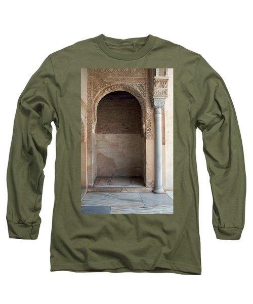 Ornate Arch And Pillar Long Sleeve T-Shirt
