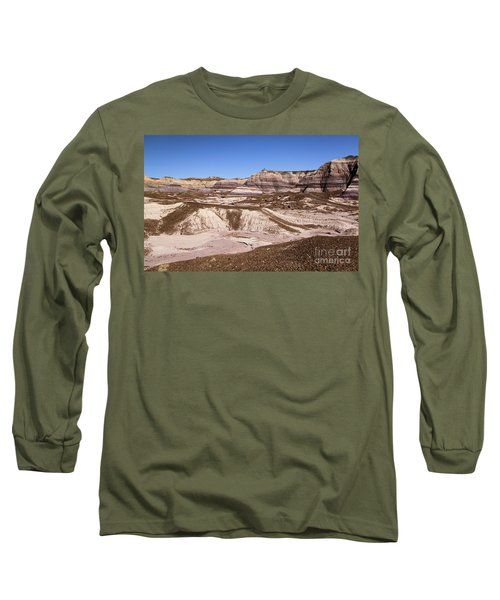 Painted Desert Landscape Long Sleeve T-Shirt