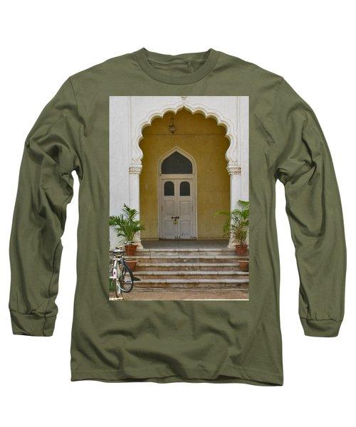 Long Sleeve T-Shirt featuring the photograph Palace Door by David Pantuso