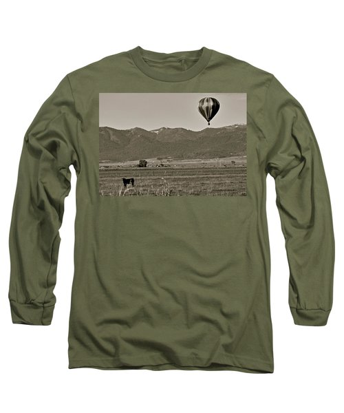 Long Sleeve T-Shirt featuring the photograph Pastoral Surprise by Eric Tressler