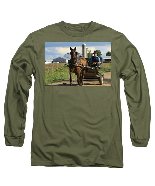 Peaceful Road Long Sleeve T-Shirt