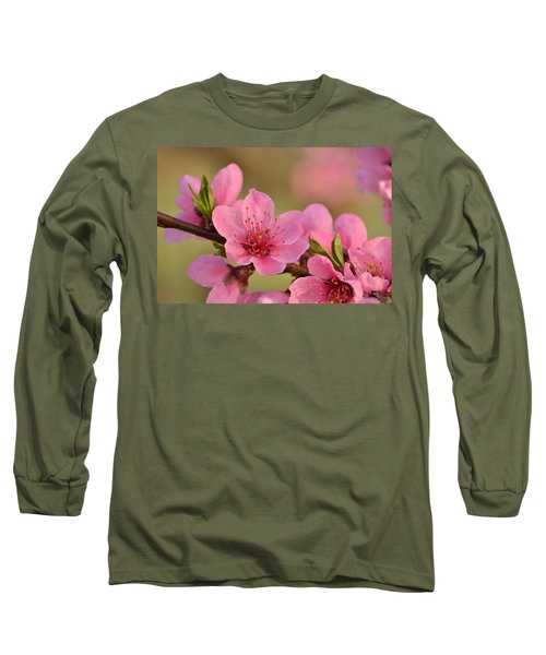 Peach Beautiful Long Sleeve T-Shirt