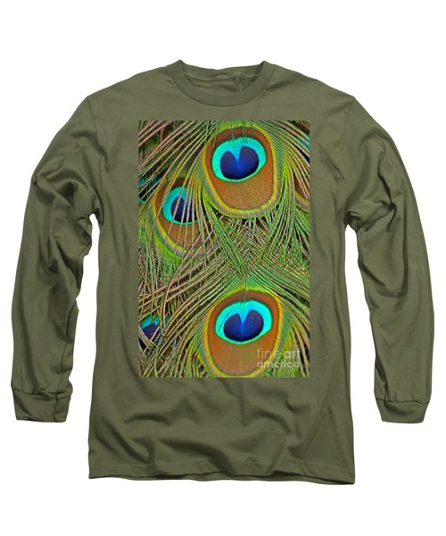 Peacock Feather 2 Long Sleeve T-Shirt