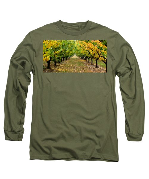 Long Sleeve T-Shirt featuring the photograph Pear Orchard by Katie Wing Vigil