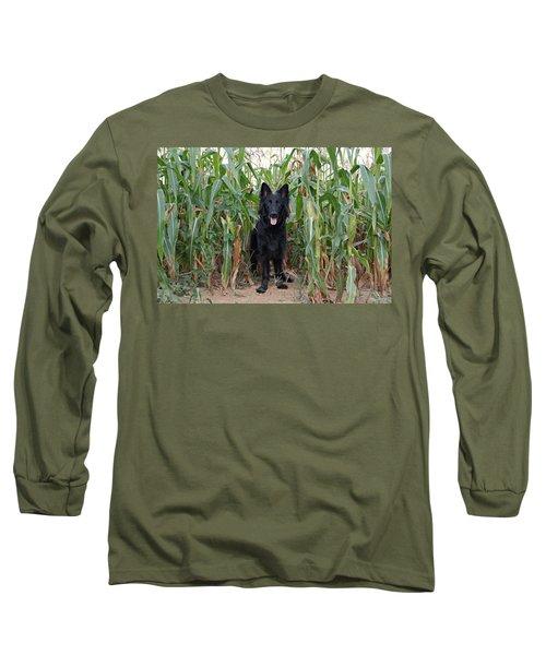 Phoenix In The Cornfield Long Sleeve T-Shirt