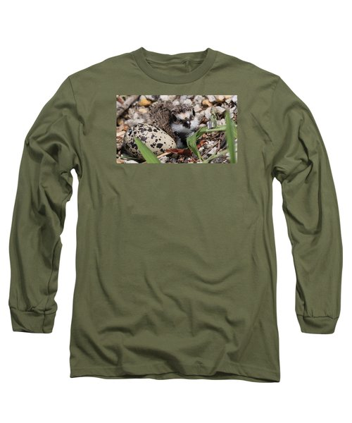 Killdeer Baby - Photo 25 Long Sleeve T-Shirt by Travis Truelove