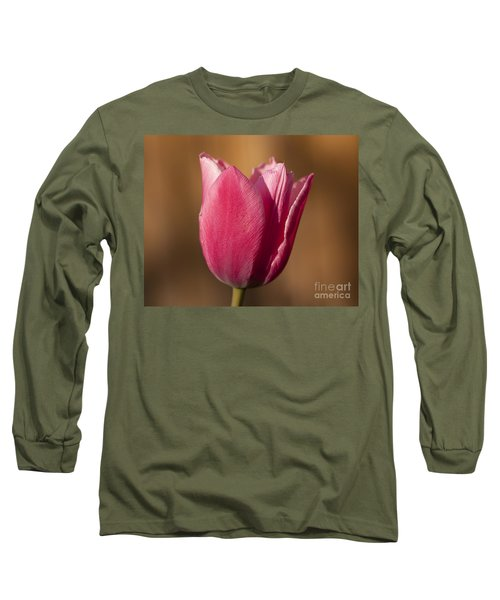 Pink Long Sleeve T-Shirt by Eunice Gibb