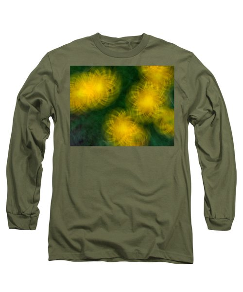 Pirouetting Dandelions Long Sleeve T-Shirt