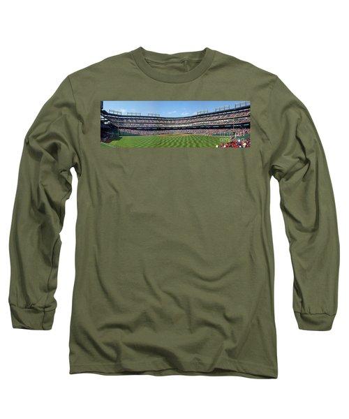 Globe Life Park, Home Of The Texas Rangers Long Sleeve T-Shirt