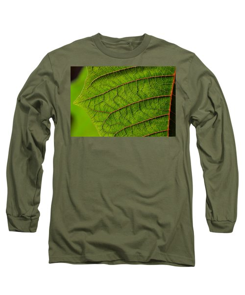 Poinsettia Leaf I Long Sleeve T-Shirt