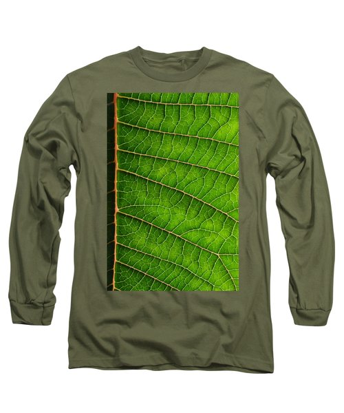 Poinsettia Leaf IIi Long Sleeve T-Shirt