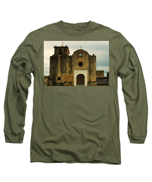 Long Sleeve T-Shirt featuring the photograph Presidio La Bahia by Vivian Christopher