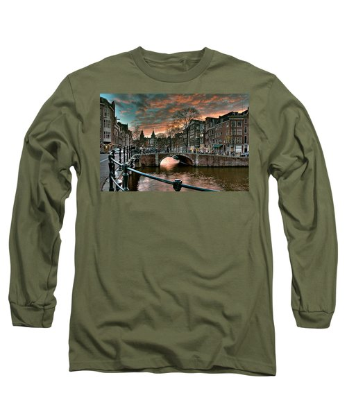 Prinsengracht And Reguliersgracht. Amsterdam Long Sleeve T-Shirt