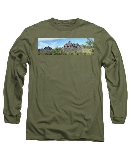 Ragged Top Mountain Panorama Long Sleeve T-Shirt