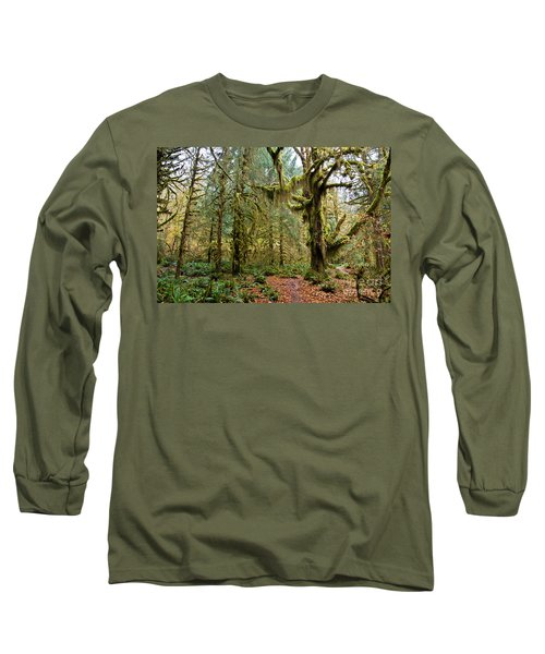 Rain Forest In Fall Long Sleeve T-Shirt