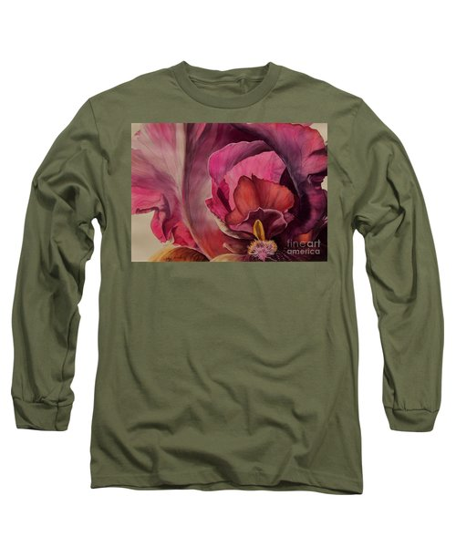 Red Explosion   Sold Long Sleeve T-Shirt