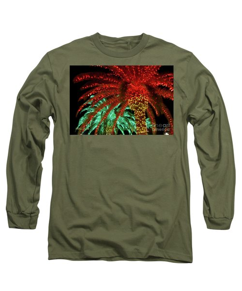 Red Palms Long Sleeve T-Shirt
