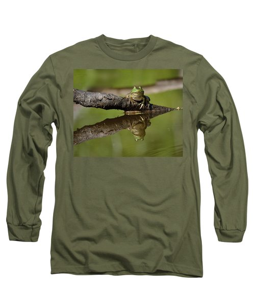 Reflecktafrog Long Sleeve T-Shirt by Susan Capuano