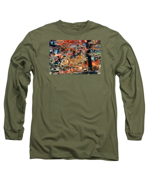 Reflection Long Sleeve T-Shirt by Barbara Middleton