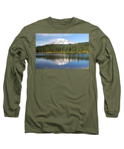 Reflection Lake - Mt. Rainier Long Sleeve T-Shirt