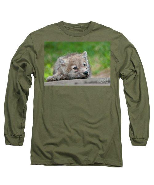 Resting Pup Long Sleeve T-Shirt