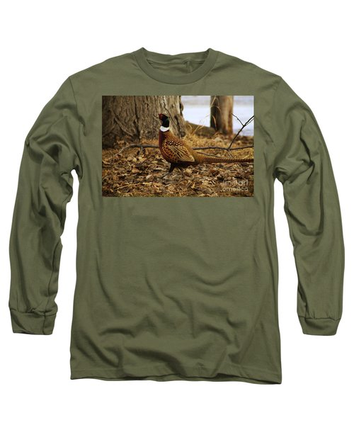 Ring-necked Pheasant Long Sleeve T-Shirt