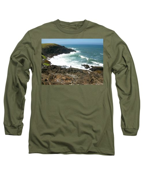Rocky Ocean Coast Long Sleeve T-Shirt