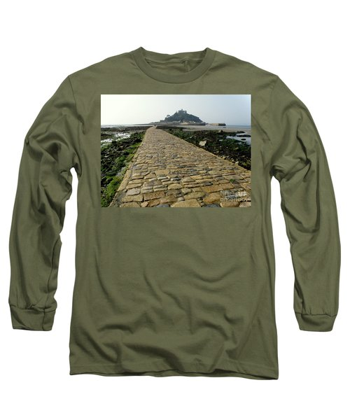 Long Sleeve T-Shirt featuring the photograph Saint Michael's Mount by Lainie Wrightson