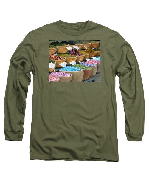 Scents For The Senses Long Sleeve T-Shirt by Laurie Morgan