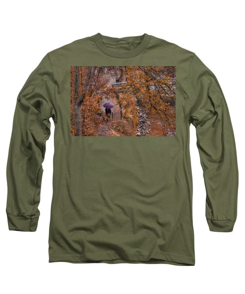 Long Sleeve T-Shirt featuring the photograph Alone Together by Tom Gort