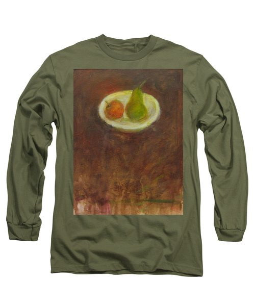 Long Sleeve T-Shirt featuring the painting Side By Side by Kathleen Grace