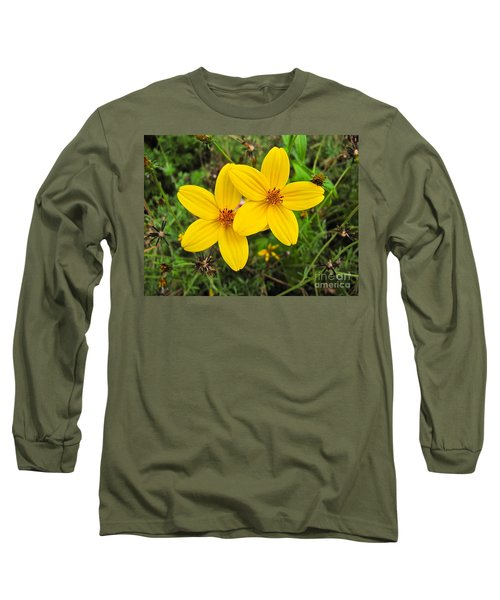 Long Sleeve T-Shirt featuring the photograph Side By Side by Sean Griffin