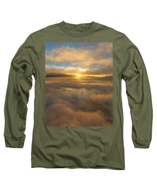 Silver Lake Sunrise Long Sleeve T-Shirt