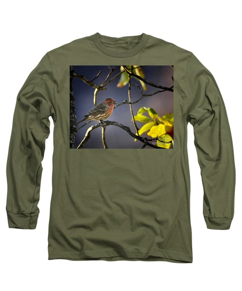 Long Sleeve T-Shirt featuring the photograph Singing In The Morning by Nava Thompson