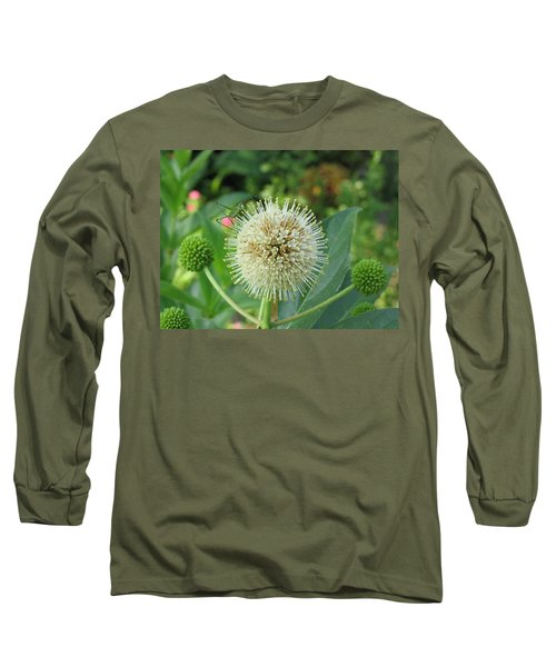 Long Sleeve T-Shirt featuring the photograph Snakeroot Rider by Mark Robbins